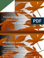 Catedra Libre Adicciones UNCo Septiembre 2013