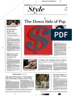 """Blake Gopnik on Andy Warhol at the Corcoran Museum, """"The Down Side of Pop"""", The Washington Post 2005-09-24"""