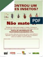 CARTAZ Chagas