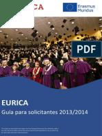 becas eurica 2014