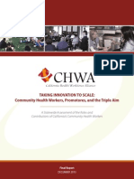 Community Health Workers Triple Aim