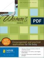 New Women's Devotional Bible, NIV, Excerpt