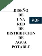 Diseño de una red de distribución de Agua Potable