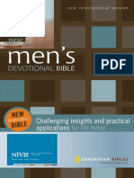 New Men's Devotional Bible, NIV, Excerpt