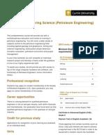 MasterofEngineeringScience(PetroleumEngineering)