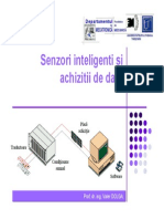 Senzori si achizitii de date