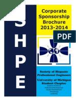 SHPE Corporate Brochure 2013-2014