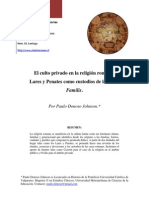 05 Paulo Donoso Religion Romana Lares y Penates