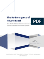 The Re-Emergence of Private Label