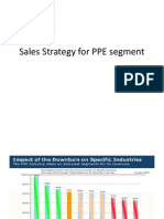Sales Strategy for PPE Segment