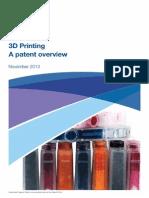 Informatics 3d Printing