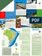 EMBRATUR Folheto Brasil Espanhol NOVO