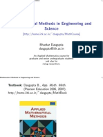 Mathematical Methods in Engineering and Science