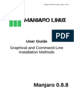 Mankaro linux Beginner User Guide