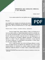 Bonet - Emoções e sofirmento nas consultas médicas