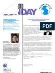 2009 Fellowship Sunday Bulletin Insert - Spanish - EU
