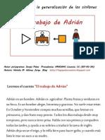 El trabajo de Adrián
