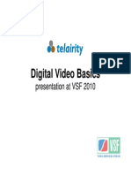 Digital Video Basics