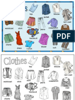 Clothes Poster 2012