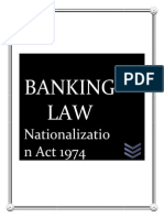 Banking Law (Nationalization Act 1974)