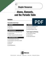 Glenceo Atoms Worksheet