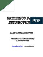 Criterios Para Estructurar
