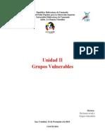 UNID II Grupos Vulnerables