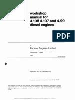 Perkins 4.107 4.108 4.99 WorkshopManual