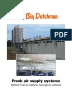 Big Dutchman Stallklima Pig Climate Control Fresh Air Supply Systems En