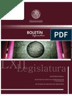 BOLETÍN SECRETARÍA GENERAL-DIPUTADOS-MÉXICO