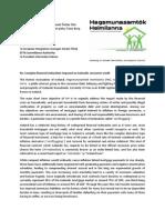 2013 HH Correspondence EUR COM ESA
