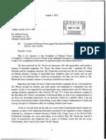 Pinsons Bar Complaint - Phillips Response