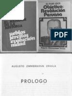 Augusto Zimmermann Zavala - El Plan Inca (Objetivo-revolucion Peruana)