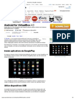 Android for VirtualBox Download