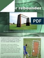 Soccer Rebounder