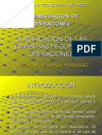 01.- Clasificacion de Las Empresas Segun Sus Operaciones.