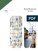 HP7400 Manual