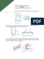 Assignment 1 Problems(Mechani2) Mechanics of Materials