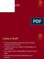Lying powerpoint presentation