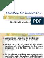 MENINGITIS NEONATAL presentacion gaby.ppt