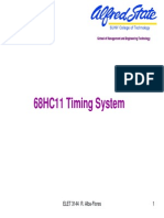 68hc11 timing system