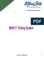 68hc11 timing system
