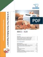 Zojirushi Bbcc x20 Manual