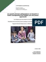 Principes Pedagogiques Apprentissage Langues Enfants Commission Europeenne Young Fr