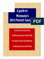 A Guide to Minnesota Precinct Caucuses