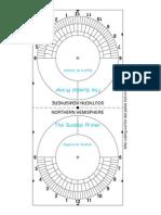 Equatorial Sundial Kit Small