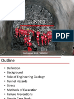 Geological Engineering for Tunnel