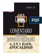 123564321 Comentario Biblico Mundo Hispano Tomo 24-1-2 y 3 Juan Apocalipsis