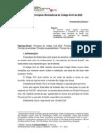 Os Princípios Norteadores do Código Civil de 2002