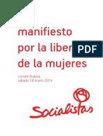 Manifiesto Libertad Mujeres Psoe